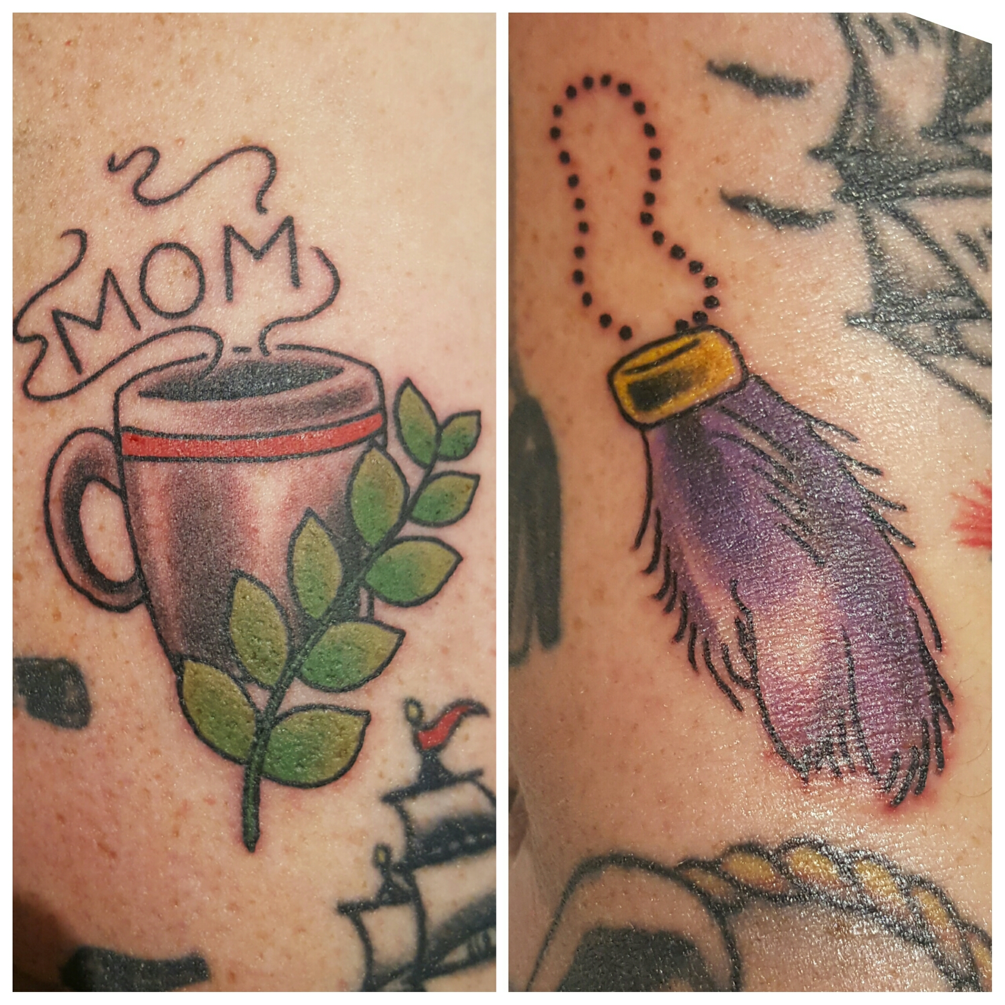 Coffee Cup & Rabbits Foot